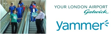 How Gatwick Airport uses Yammer