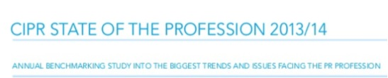 What's the state of the PR profession?