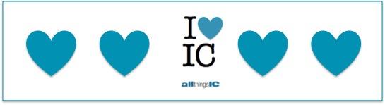 I heart IC – sharing the love