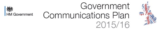 How Government will be communicating in 2015/16