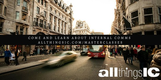 Sign up to learn about internal communications