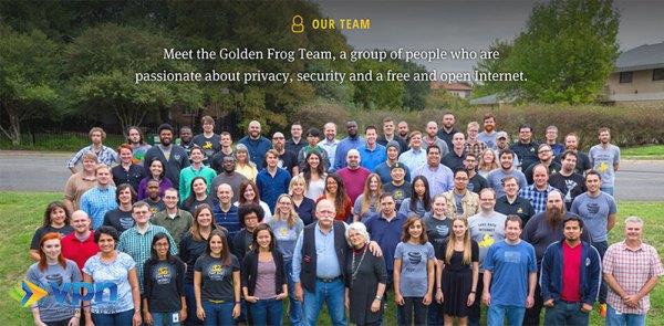 The Golden Frog Team, makers of VyprVPN
