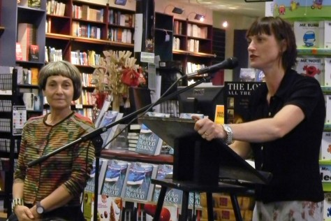 Christine Gordon intros Marisa @ Readings