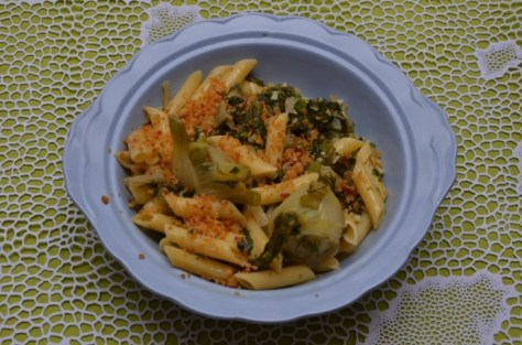 pasta with baby fennel