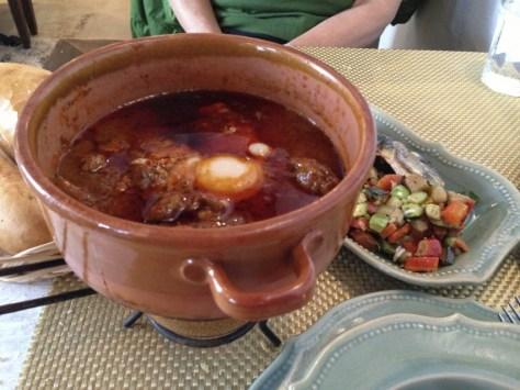 Tunis eggs