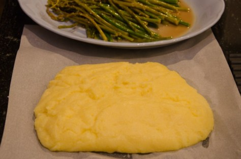 Polenta and wild asparagus 2