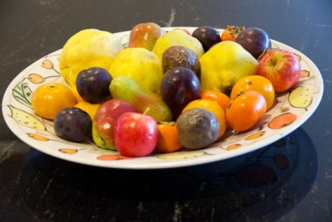 Autumn Fruit platter hero