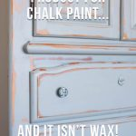 What Protective Topcoat Product Should You Use On Chalk Paint That Isn T Wax All Things Thrifty