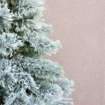 Easy Flocked Christmas Tree Instructions All Things Thrifty