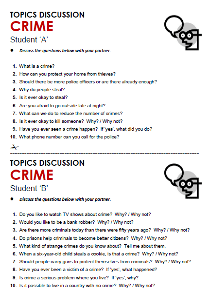 Crime All Things Topics