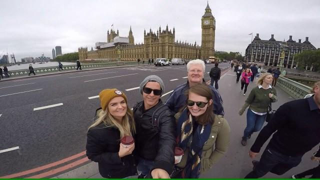 Me, Dave, Phil & Kate at the Big Ben
