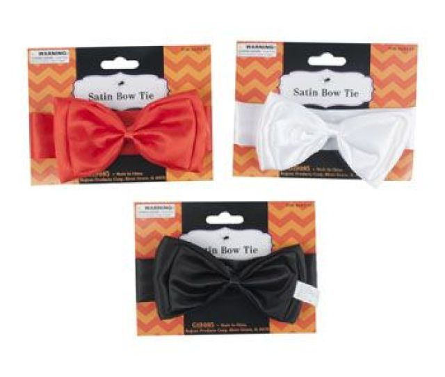 Units Of Bow Tie Satin Costume Halloween Thanksgiving
