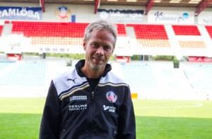 Ohlander meddelar goda nyheter för Akademilaget Foto: Samone Falkman