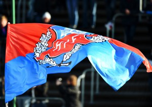 Blir det en säsong då HIF flaggan åter vajar högt? Foto:Samone Klinteberg