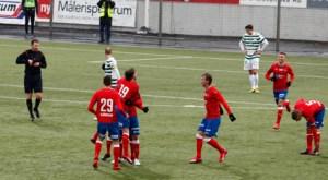 Segern mot Vasteras var odiskutabel Foto: Tobias Barkskog