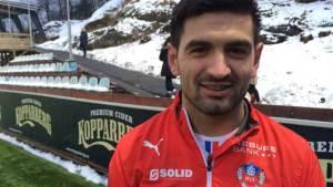 Ilir Berisha fick inte förlängt med ÖSK