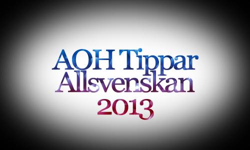 AOH tippar Allsvenskan – Omg. 30