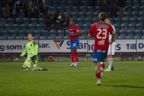 Alvaro Santos fick spela från start igen.  Foto: Bjarki Tordarson