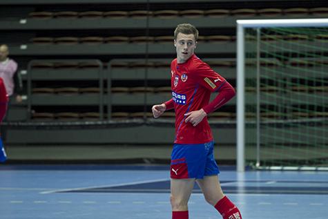Anton Kinnander under Royal Golden Cup häromveckan Foto: Bjarki Tordarson
