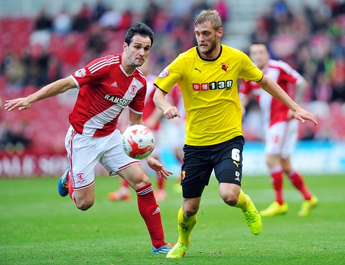 Fotboll, Engelska League Championship, Middlesbrough - Watford