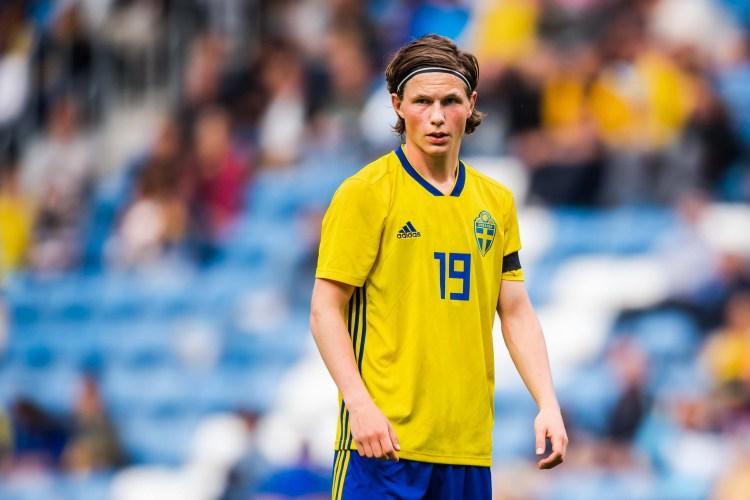 Max Svensson i U21-landslaget