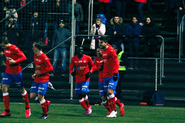1-0 målet var en riktig pärla Foto: Samone Klinteberg