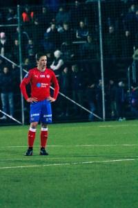 Gustav Jarl gjorde en stark insats på högerbacken igår Foto: Samone Klinteberg