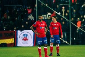 Victor Pàlsson och Gustav Jarl mot Syrianska I Svenska Cupen Foto : Samone Klinteberg