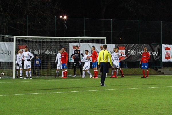HIF-Syrianska I Svenska Cupen Foto: Samone Klinteberg