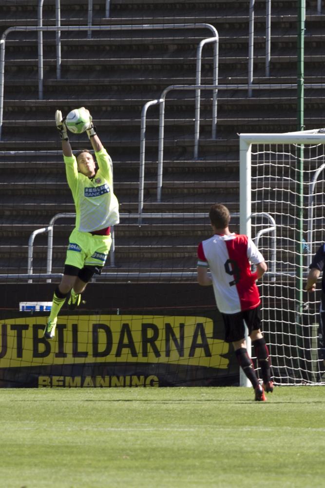 Bildextra! HIFs ungdomar tar emot Feyenoords U19