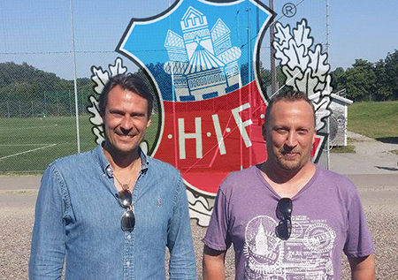 Michael Hansson och Fredrik Ymer