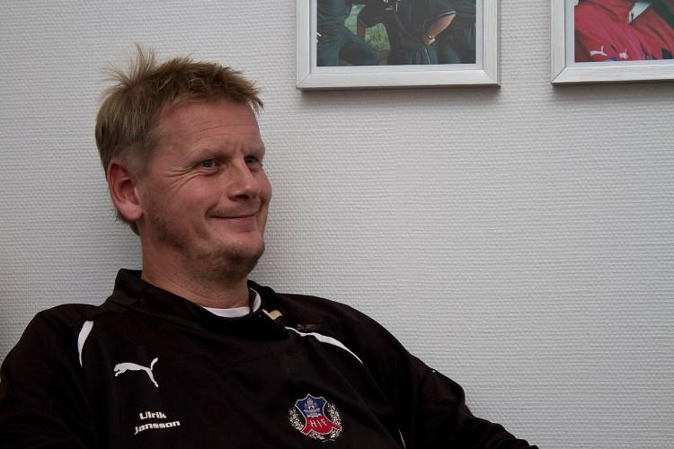 """Intervju med Ulrik Jansson: """"Det är bra människor i klubben"""""""