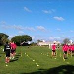 Teambuilding och fys i Portugal