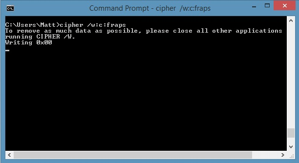 Cipher - Command Prompt Tricks