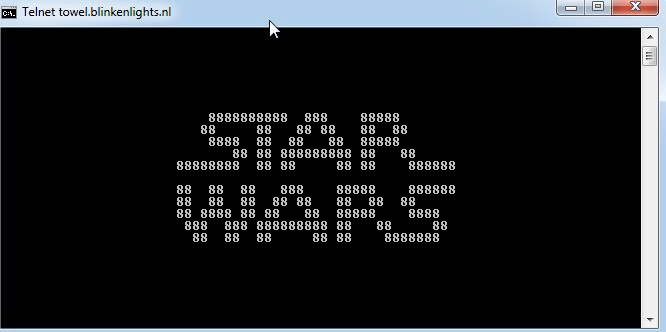 Watch Starwars on Command Prompt