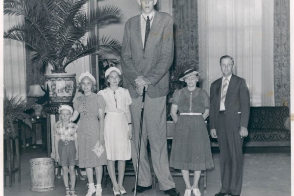 tallest people in history