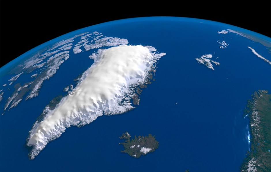 greenland - largest island in the world