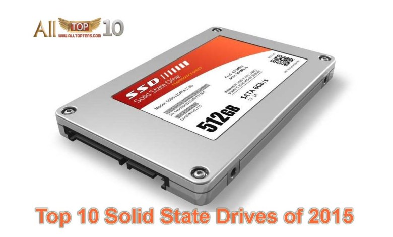 Top 10 Solid State Drives of 2015
