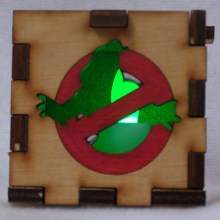 Ghostbusters LED Gift Box green