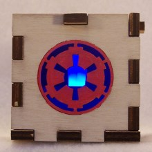 Imperial LED Gift Box BLue