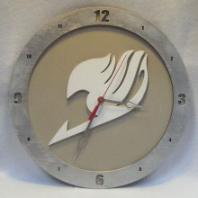 Fairy Tails beige background, 14 inch Build-A-Clock