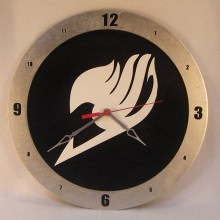 "14"" Wood Fairy Tails Symbol Black Background Build-A-Clock"