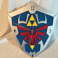 Hylian Shield Clock