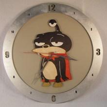 Nibbler Beige Background Clock