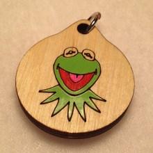 Kermit Wood Necklace