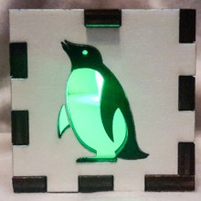 white penguin lit grn