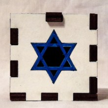 Star of David white