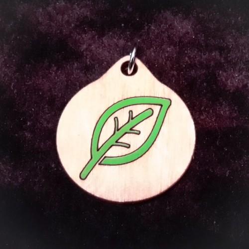 Leaf Pendant/Keychain