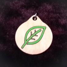 Leaf Wood Necklace