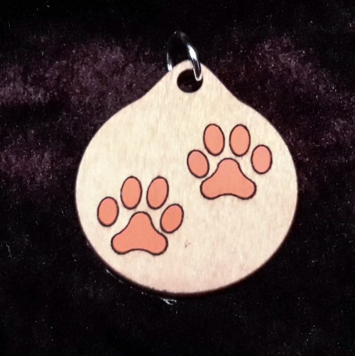 Paws Pendant/Keychain
